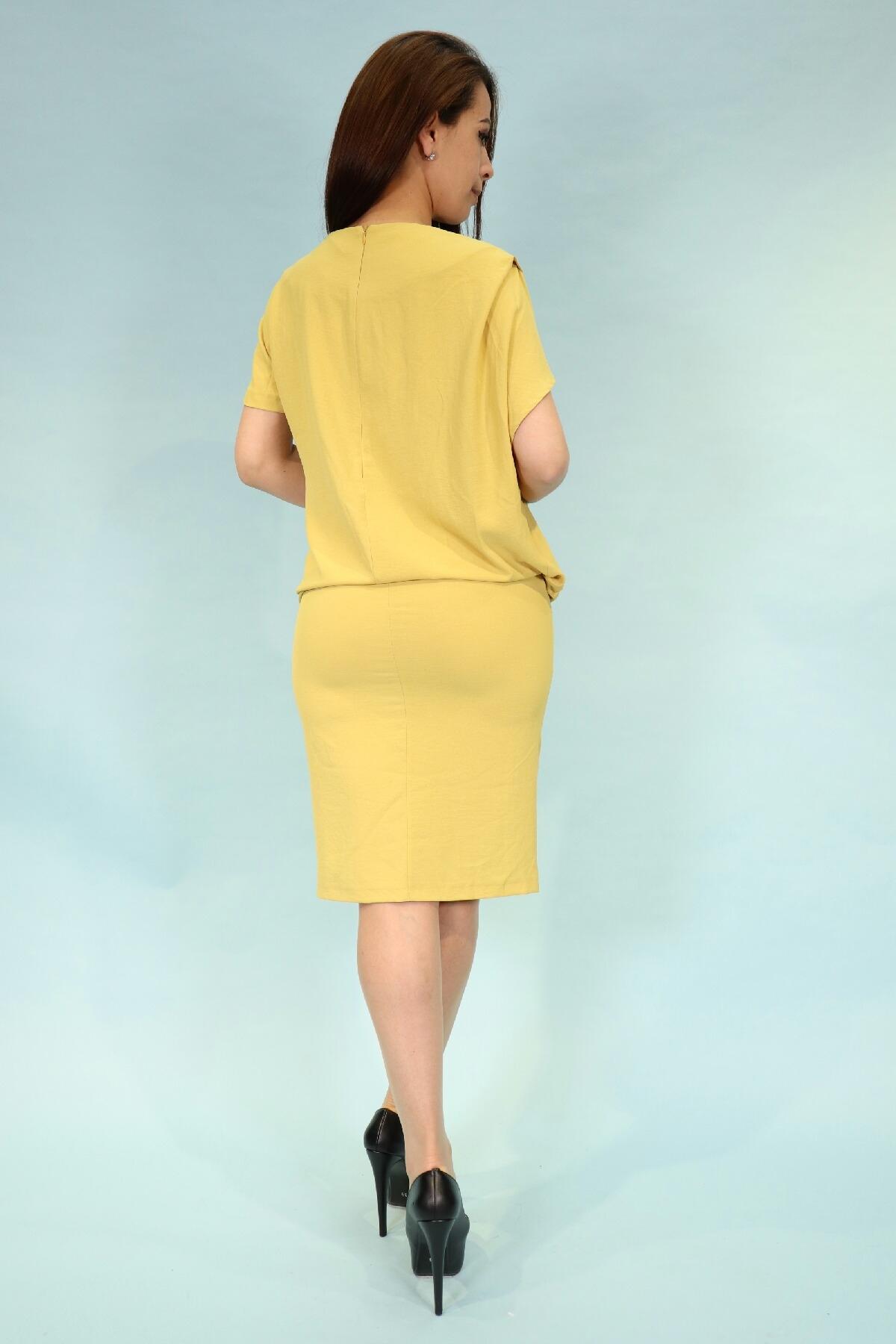 Day Dresses Medium-Yellow