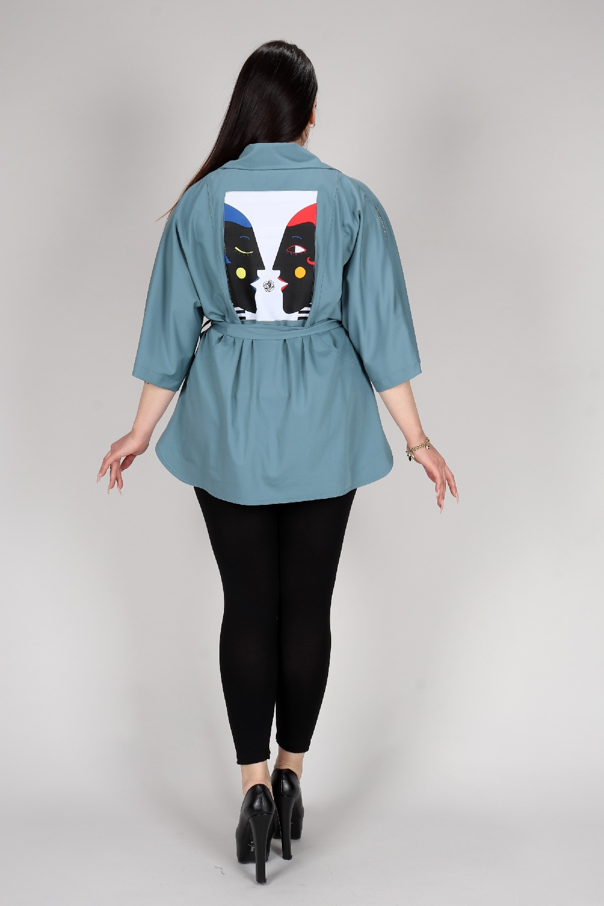 Casual Jacket-Khaki