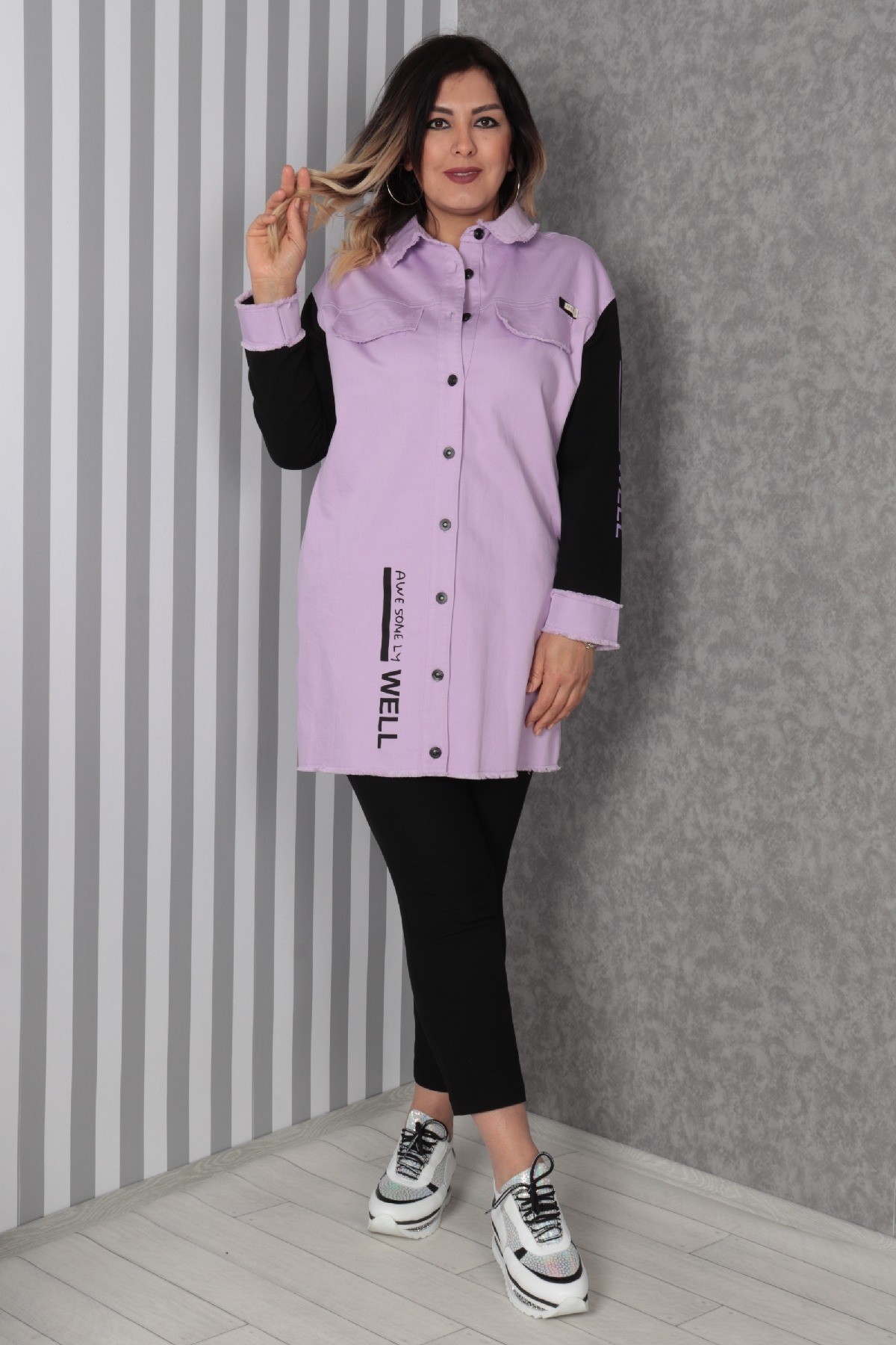 Trench Coats-Lilac