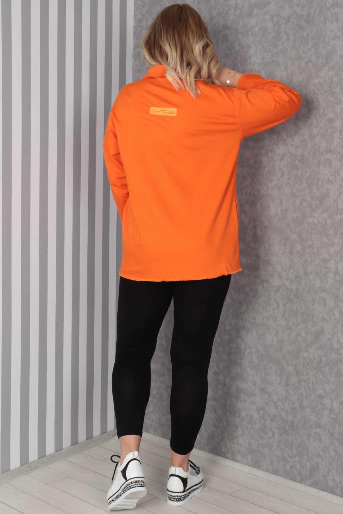 Trench Coats-Orange