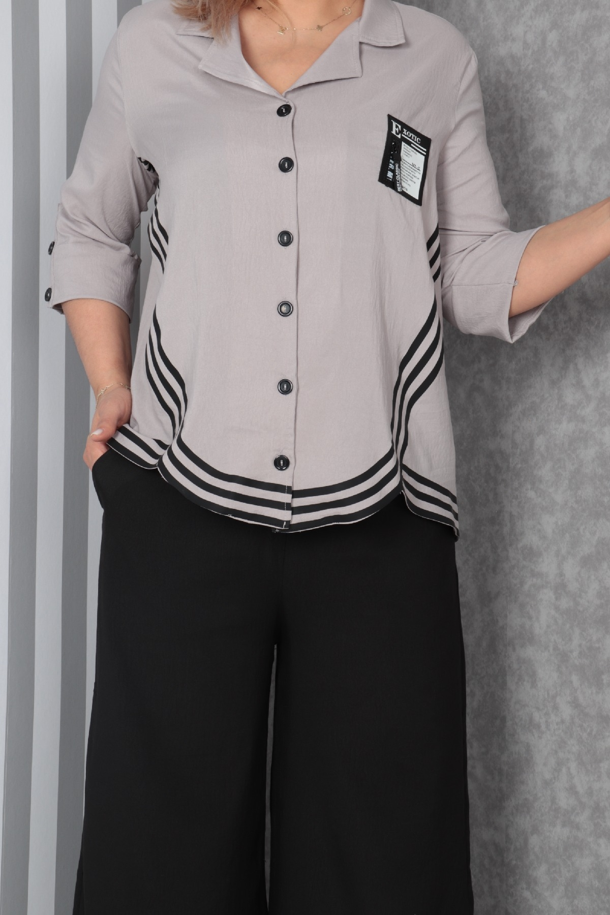 Two-Piece Suit-Light Grey