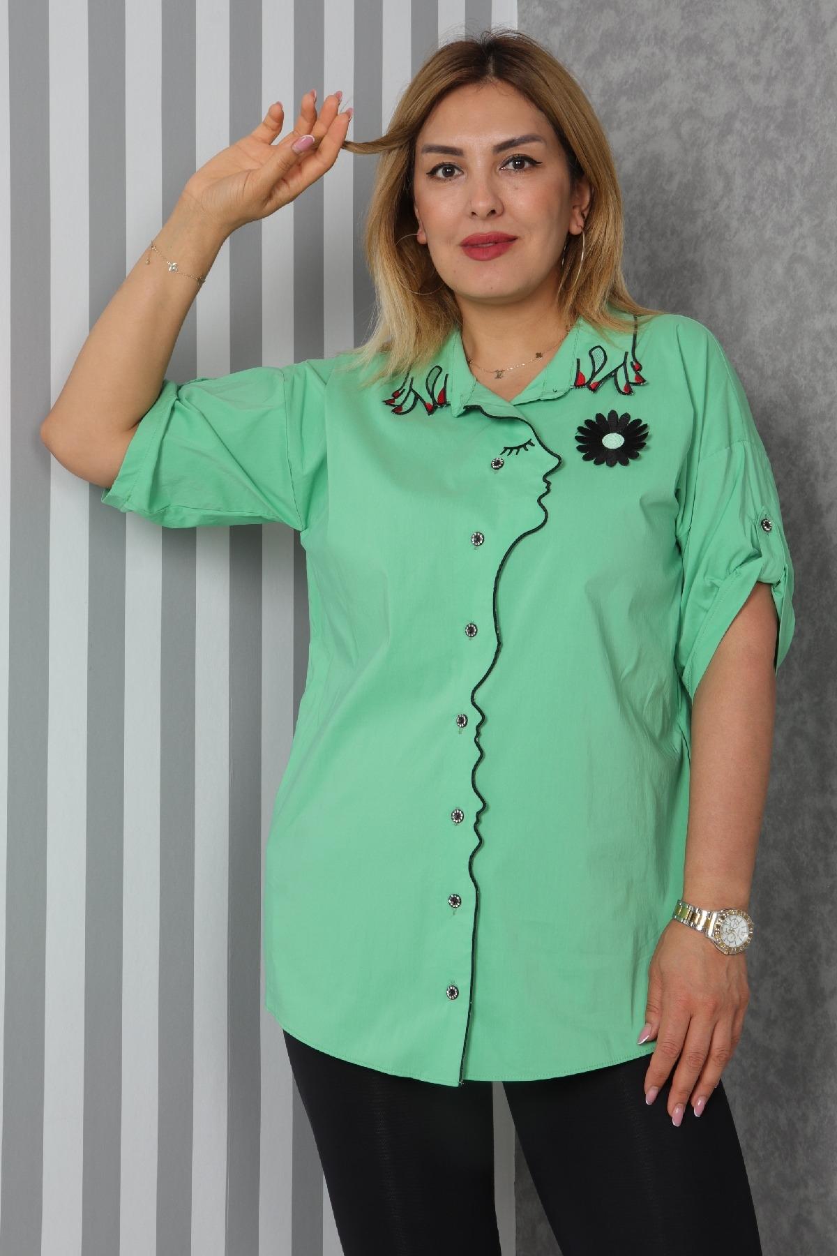 Shirt-Neon Green