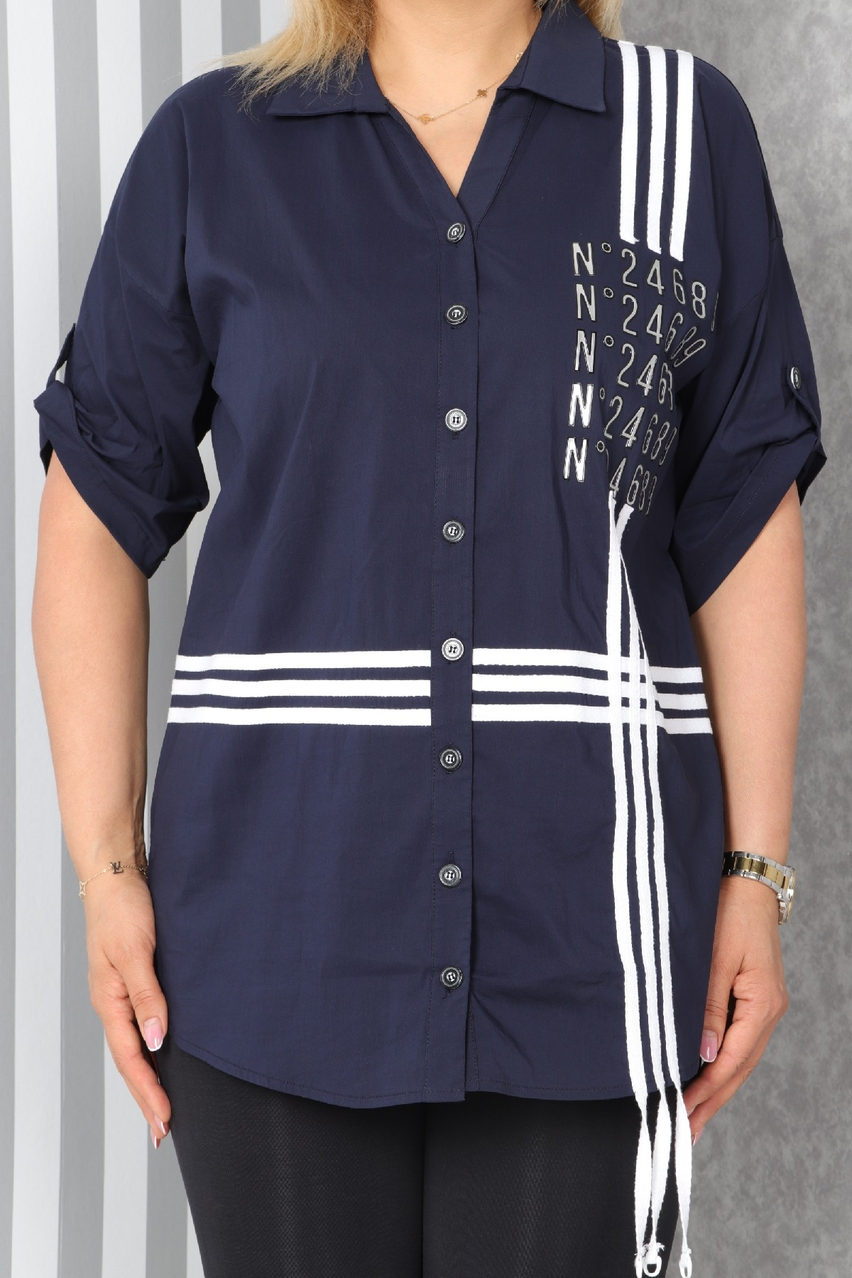 Shirt-Dark Blue