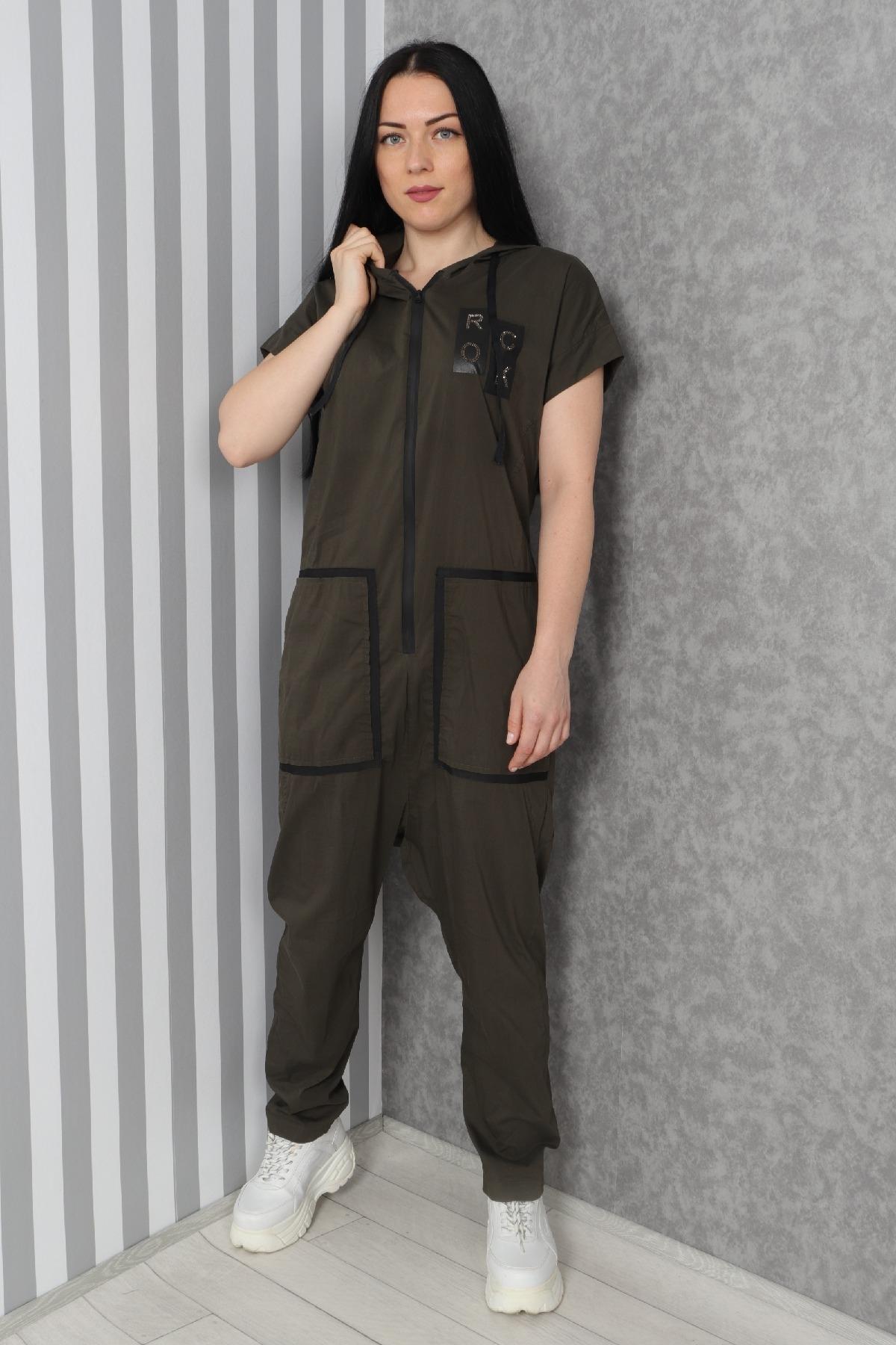 Jumpsuits-Khaki