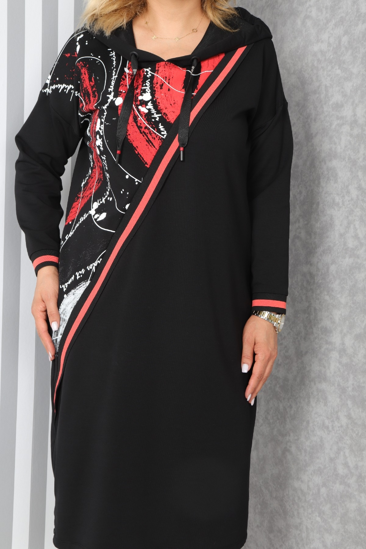 Casual Long Dresses-Red