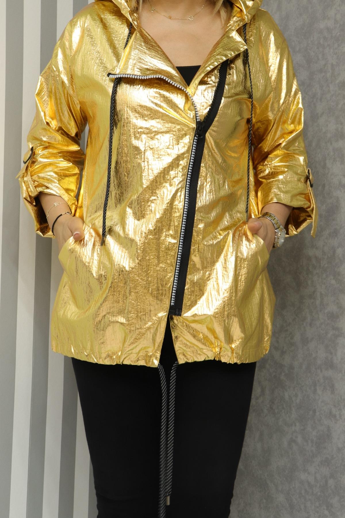 Trench Coats-Yellow