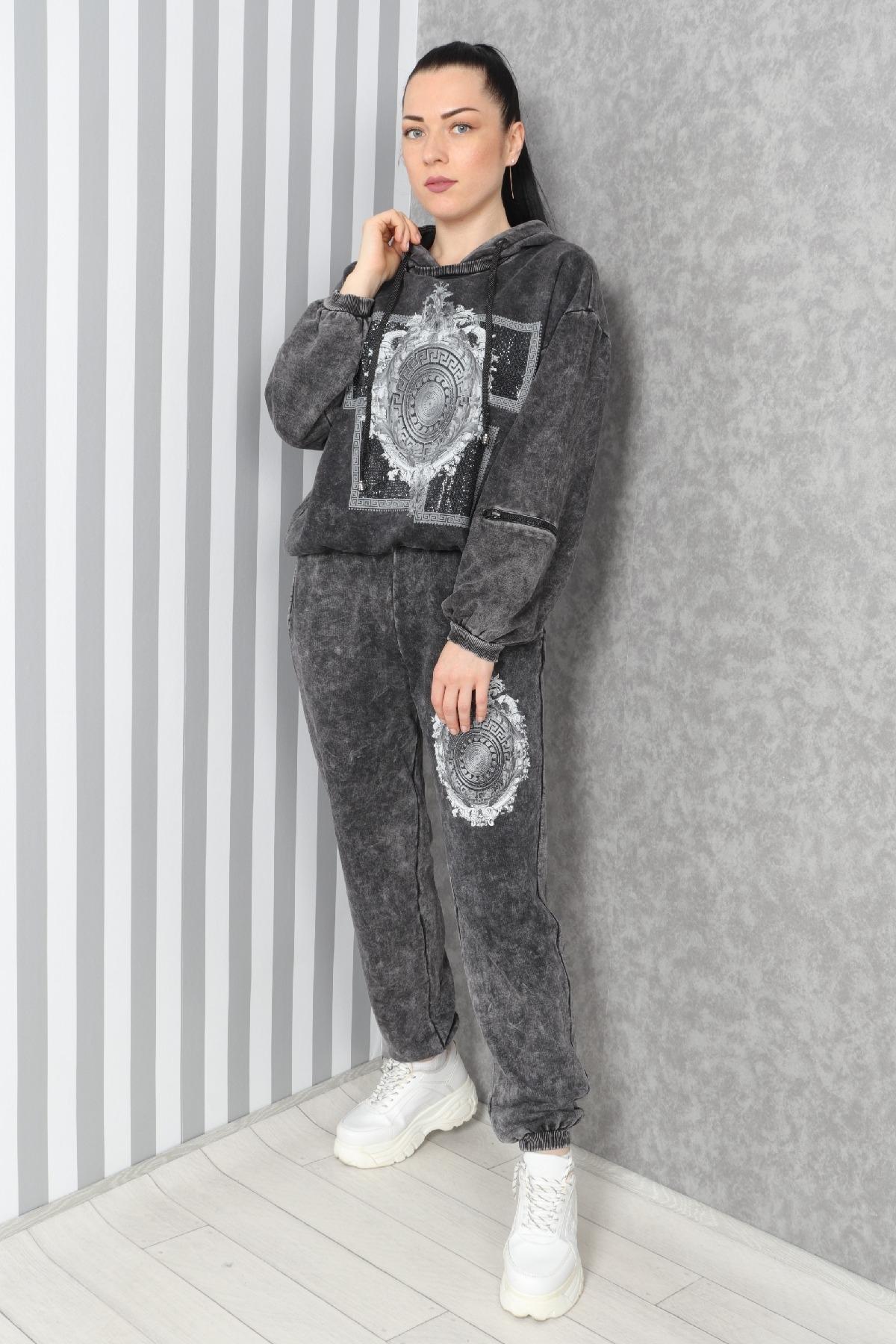 Two-Piece Suit-Black