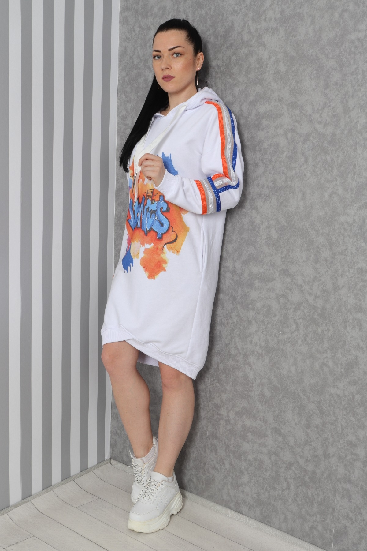 Casual Dresses-White