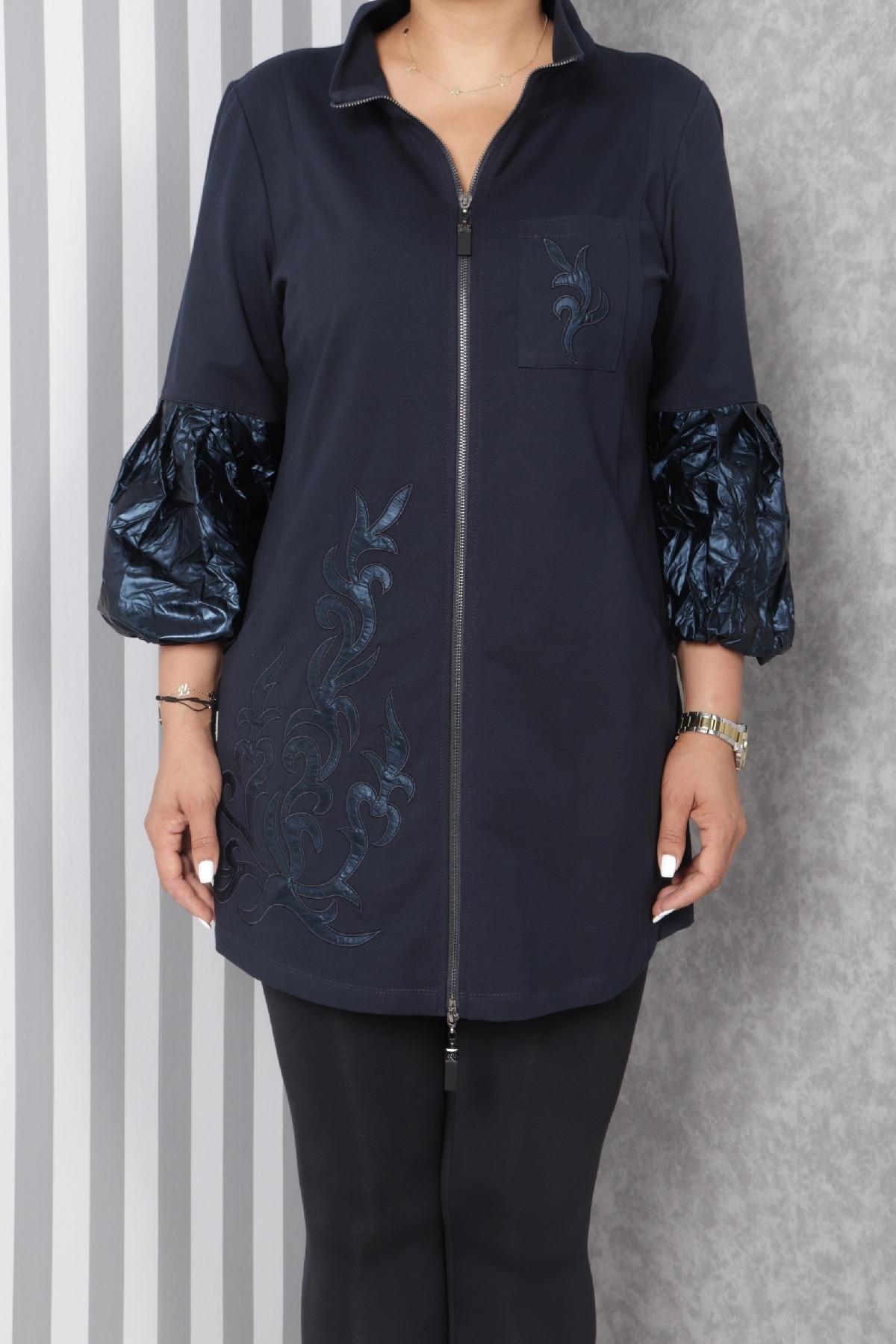 Trench Coats-Dark Blue