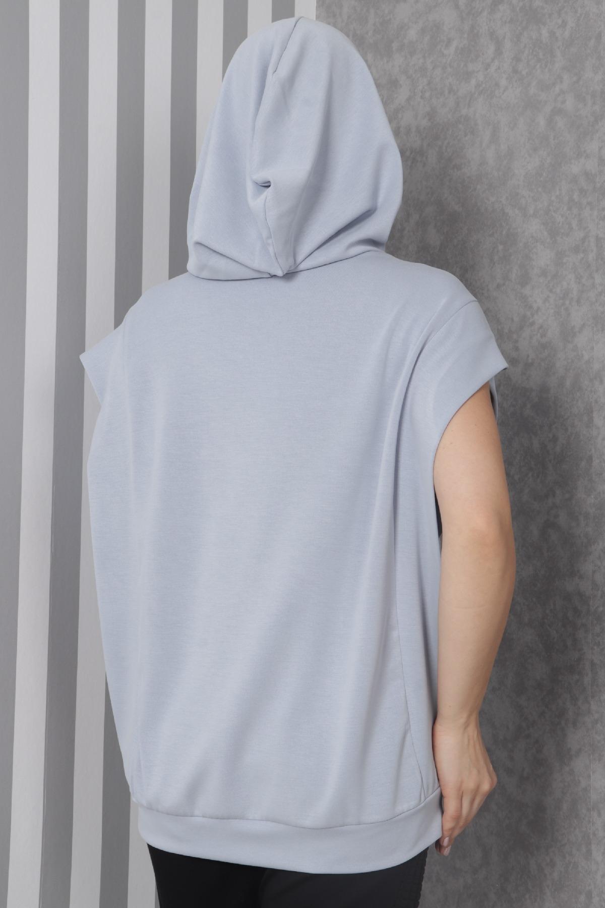 Sweatshirt-Blue