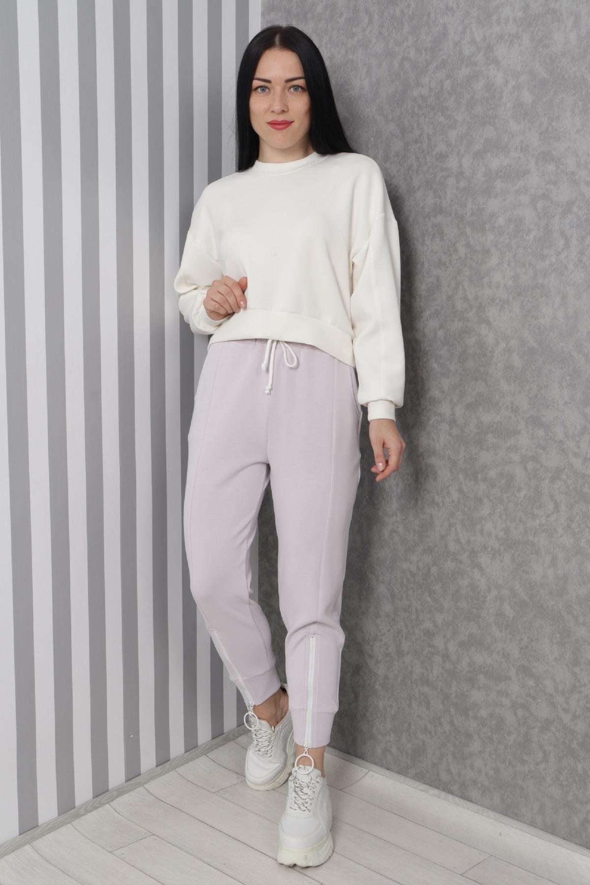 women pants-Lilac