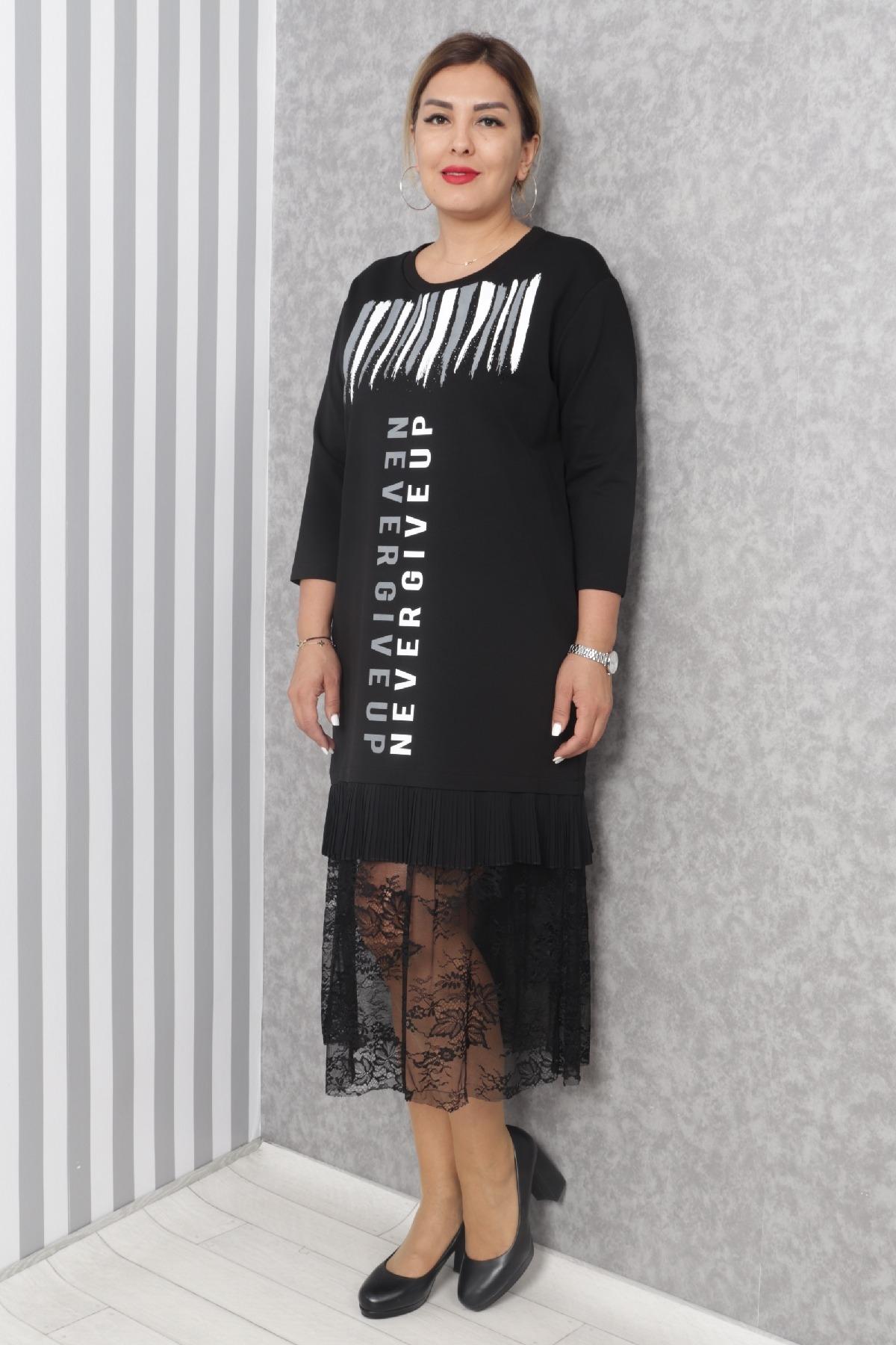 Casual Dresses-Black