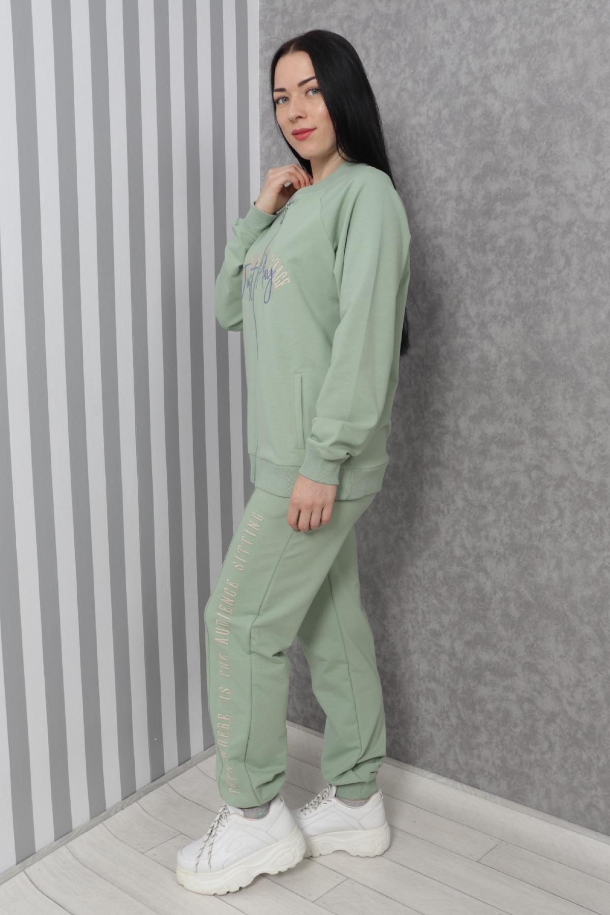 Two-Piece Suit-Green