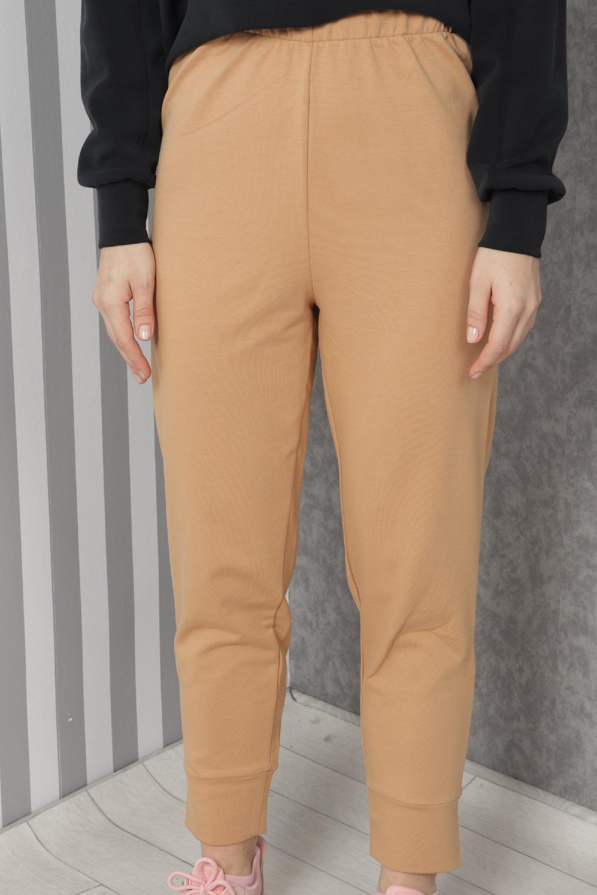 women pants-Mink