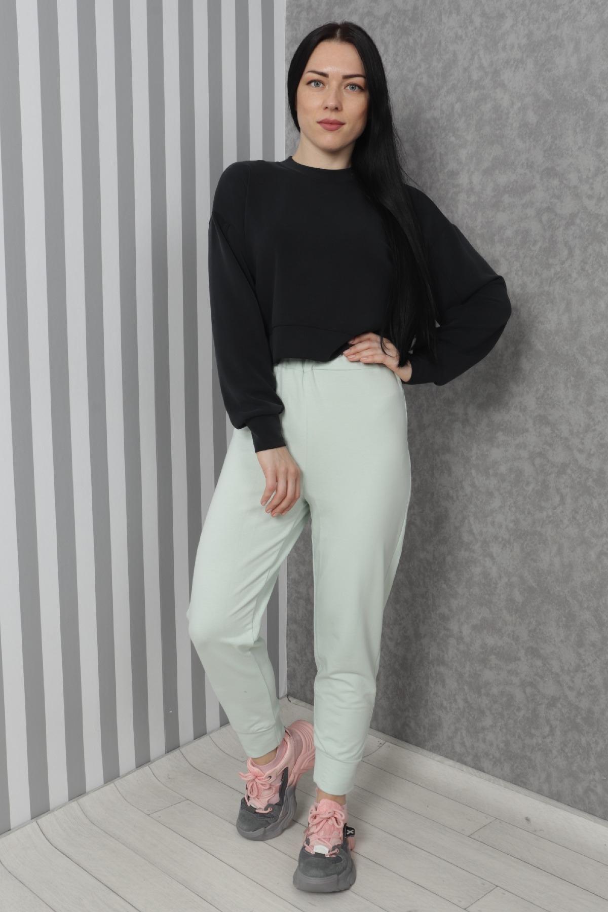 women pants-Green
