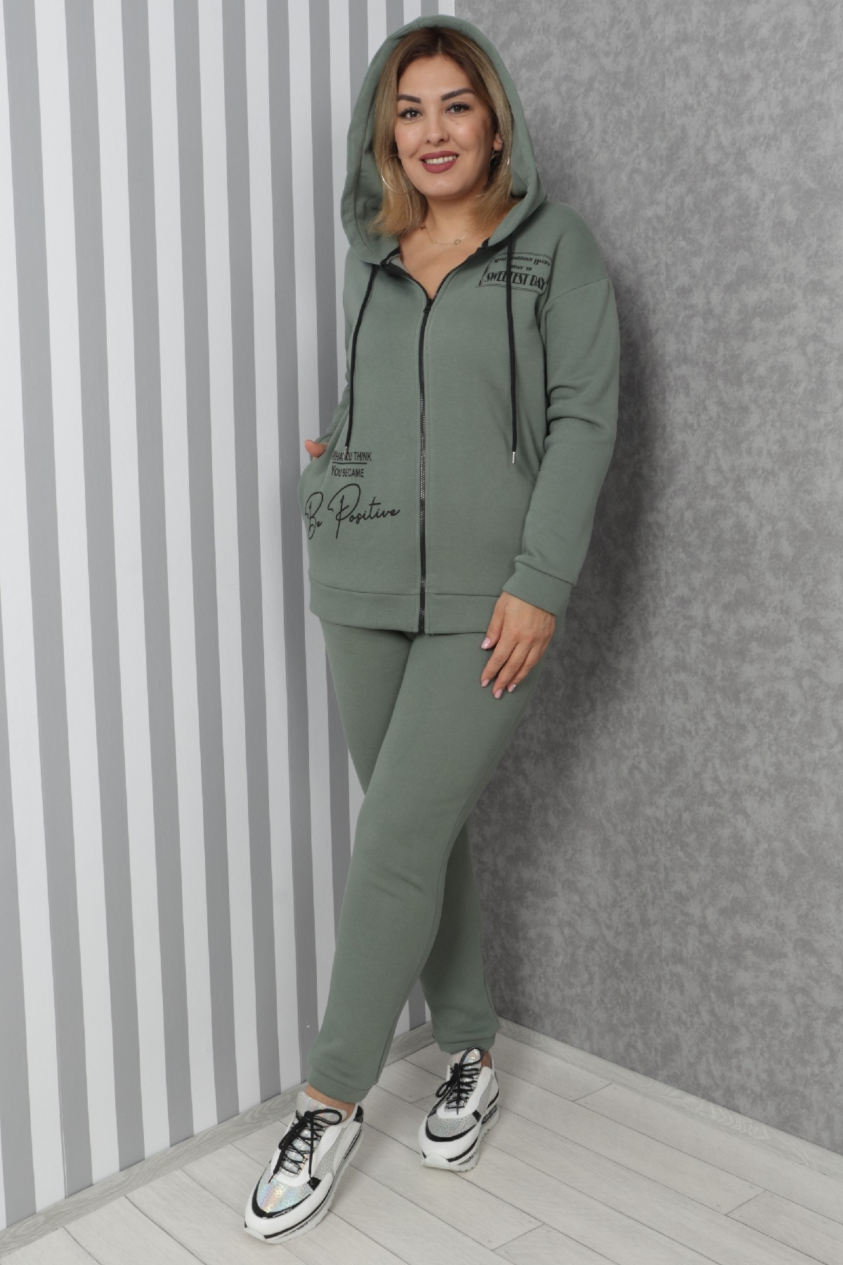 Two-Piece Suit-Petrol Green