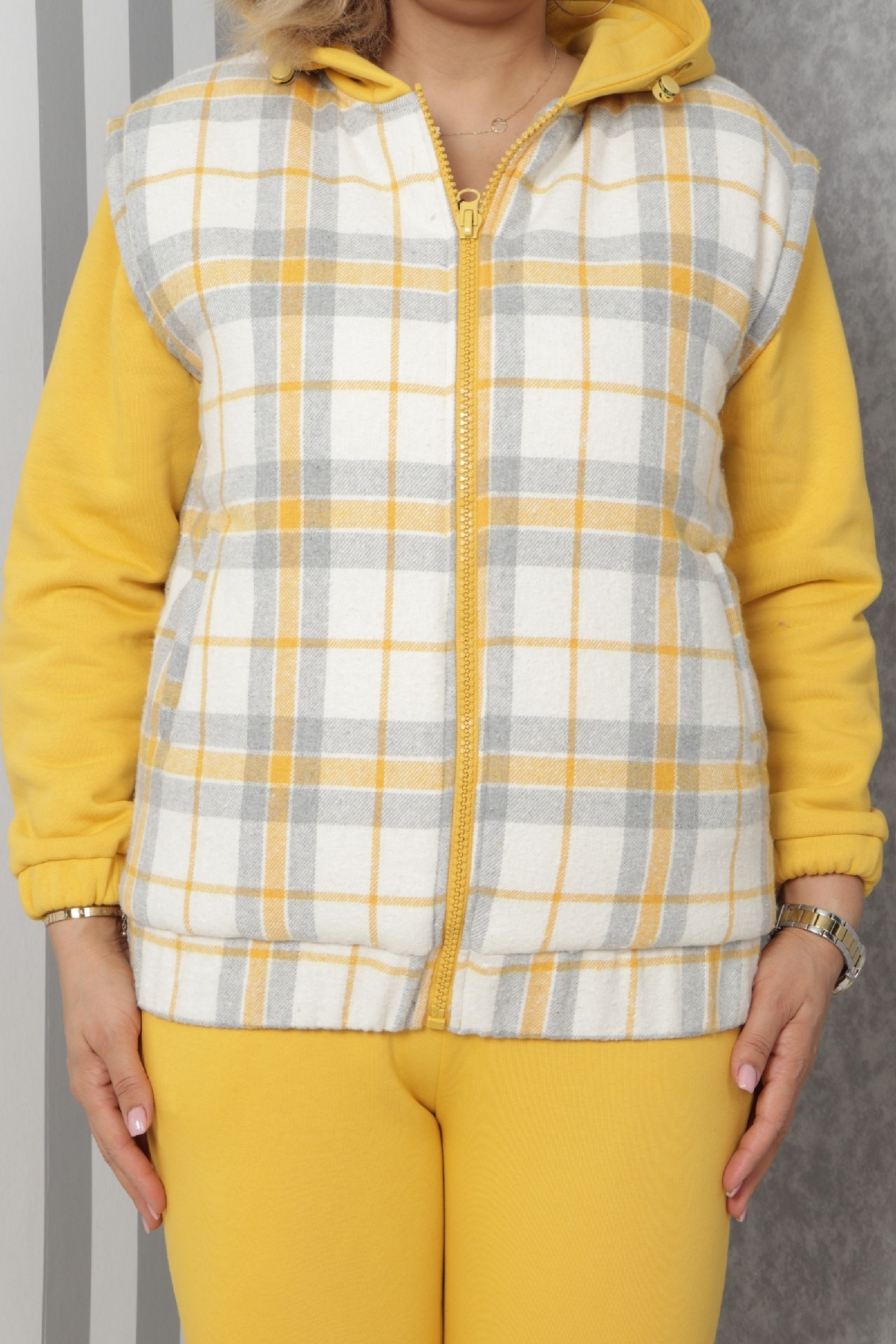 Two-Piece Suit-Yellow